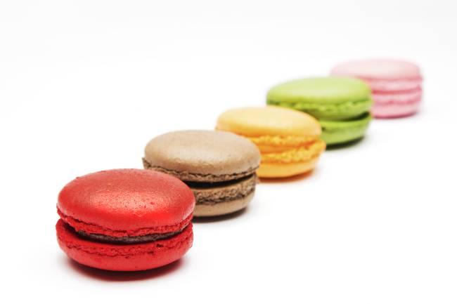 Macarons da grife Carla Daudt: sabores inusitados (Leo Aversa/Divulgação)